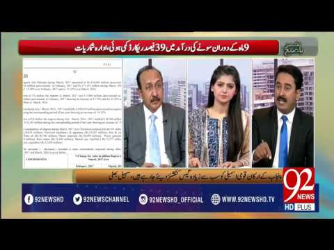 Why Gold Prices Are Going Down In Pakistan? -26-04-2017 - 92NewsHDPlus