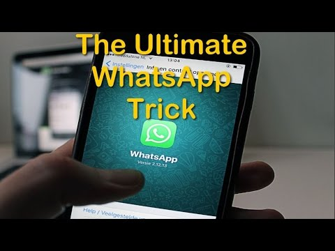 The Ultimate WhatsApp tricks: Secret Folders (See Deleted Pictures)