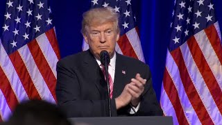 Trump speaks at the opening of the Mississippi Civil Rights Museum