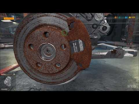 Car Mechanic Simulator 2018 - Fixing Brake System - Gameplay (PC HD) [1080p60FPS]