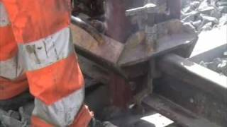 Thermite welding Railway Tech Switzerland