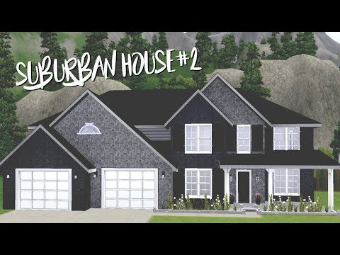 THE SIMS 3 HOUSE BUILDING | BLOCK OF SUBURBAN HOUSES SERIES #2