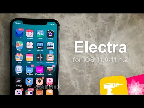 Electra for iOS 11.0-11.1.2 | Jailbreak Toolkit - How to Run Tweaks & Anemone Themes on iOS 11!