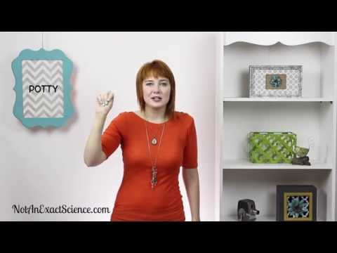 Potty in Baby Sign Language, ASL