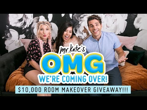 $10,000 Room Transformation Giveaway!!   OMG We're Coming Over   Mr. Kate