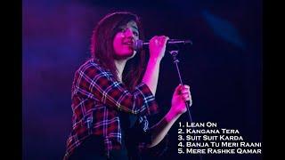 Shirley Setia Live | Mere Rashke Qamar Mash up | Ahmedabad Concert
