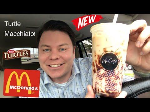 McDonald's Turtle Iced Macchiato Review