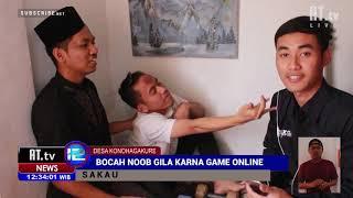 LAGI-LAGI BOCAH JADI GILA KARNA GAME ONLINE !!