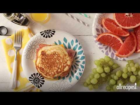 How to Make Leftover Pancake Breakfast Sandwiches | Breakfast Recipes | Allrecipes.com