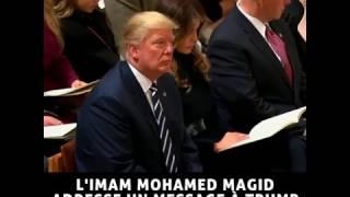 Donald Trump écoute le Saint Coran 2017