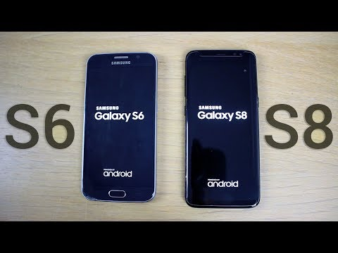 Samsung Galaxy S8 vs. Galaxy S6 - Ultimate Speed Test (Boot Up, Benchmarks, Apps)