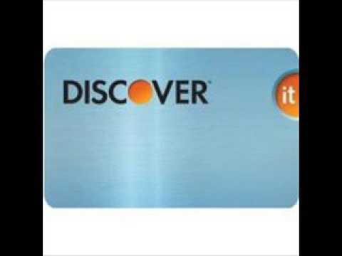 Discover One of the best credit cards to have.