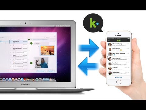 Restore Deleted KIK Chat History Messages Photos from Mac to iPhone iPad iPod, Extract KIK Backup