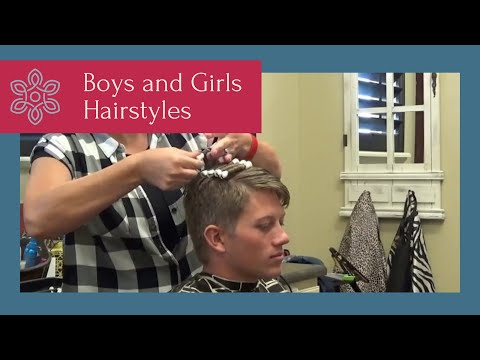 How to Add Curls to Boys Hairstyles  ( Boys Curly Haircut)