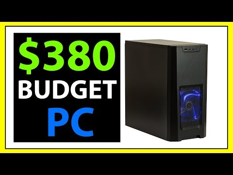 $380 Budget Gaming PC for New Gamers