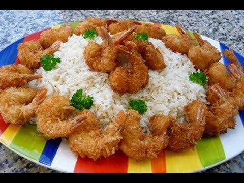 Coconut Shrimp Recipe, how to,easy recipe.