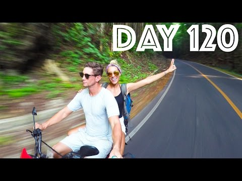 Tarsier Monkeys and Chocolate Mountains!   DAY 120