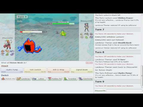 Pokemon Showdown Battle Series [OU] - Battle #11