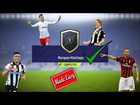 FIFA 18 Marquee Matchups Made Easy!     Jan. 30th