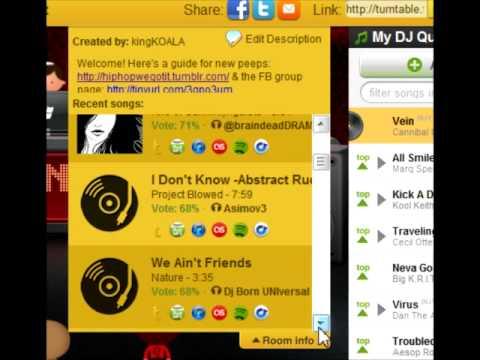 turntable.fm jam