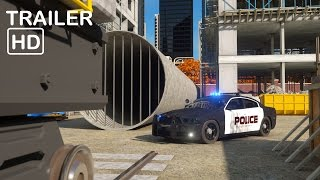 Sergeant Cooper the Police Car 2  - Trailer 2 -  Real City Heroes (RCH) | Videos For Children