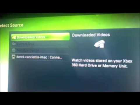 Xbox 360- how to stream music wireless using a mac