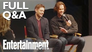 Download Supernatural's Jensen Ackles & Jared Padalecki Answer Season 14 Q&A (FULL) | Entertainment Weekly Video