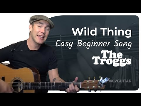 Wild Thing - The Troggs (Easy Songs Beginner Guitar Lesson BS-210) How to play