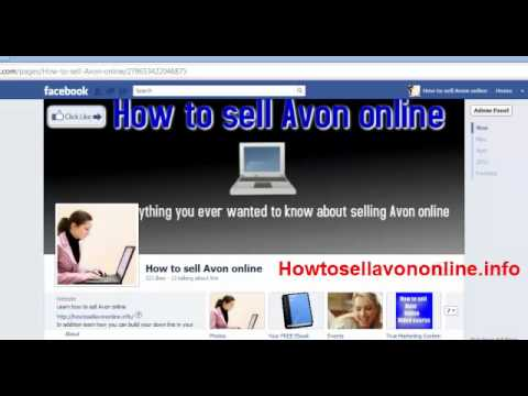 How to sell Avon online- Why should you build your Down Line online