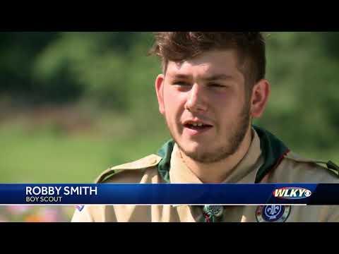 Teen creates Korean War memorial to honor grandfather's service
