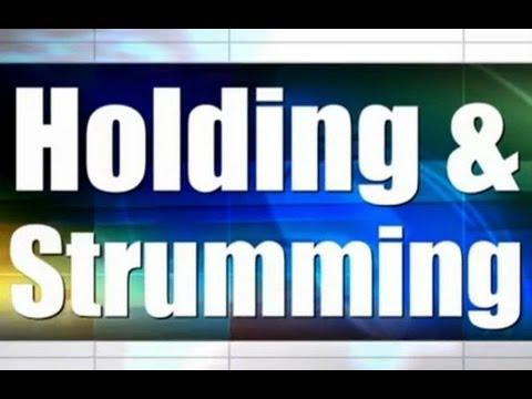 Basic Ukulele Lessons - 02 - Holding and Strumming