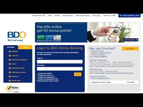 VLOG #18 ADDING PLDT BILL TO YOUR BDO ONLINE BANKING