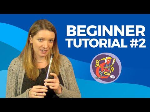 Tin Whistle Lesson 2: Learn The Rattlin' Bog + Good Tone [Exercise]