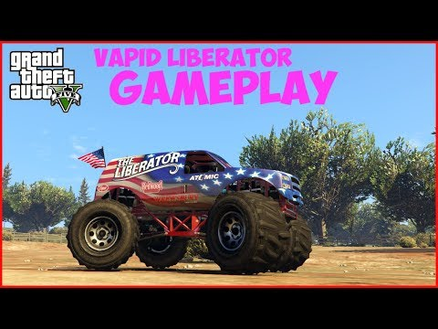 GTA V - Vapid Liberator Gameplay (PC Max-Settings)