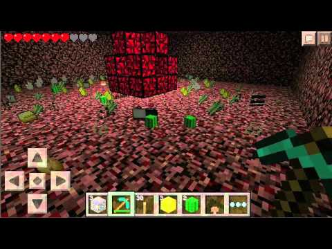 How to build a Nether Reactor - Minecraft PE 0.8.0