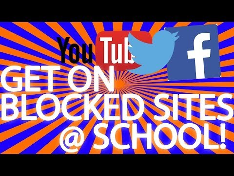 Get on facebook at school (Bypass web filters, proxies)