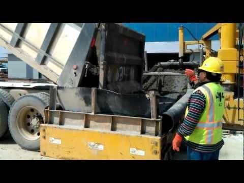 Work-Cement Pour