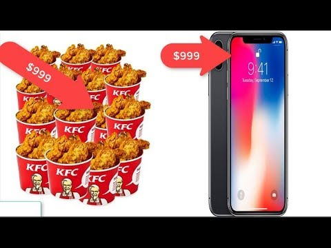 14 Things That Are Surprisingly Cheaper Than an iPhone X