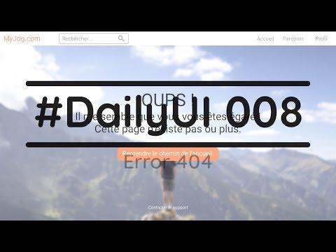 #DailyUI 008 - Le design émotionnel
