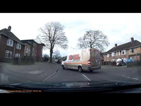 Norwich UK Dashcam - red light jump (KR58 WBX / KR58 WDX)