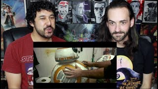 Star Wars: The Last Jedi Behind The Scenes REACTION!!!