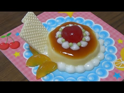 You can eat 🍮 DIY Purin Parfait shaped Candy Kit - popin' cookin' 14 可吃