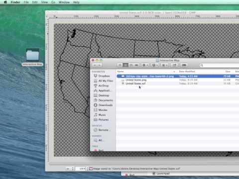 Gimp to make Interactive Maps