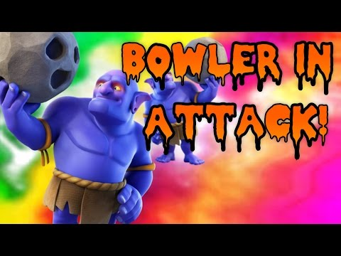 New Dark Troop Bowler in Attack - Clash of Clans