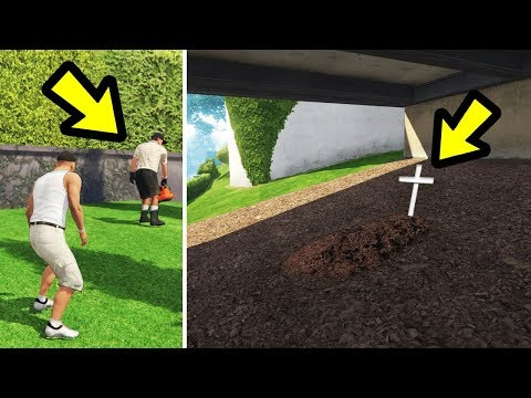 GTA 5 - If you don't take out the Gardener.. what happens to him?