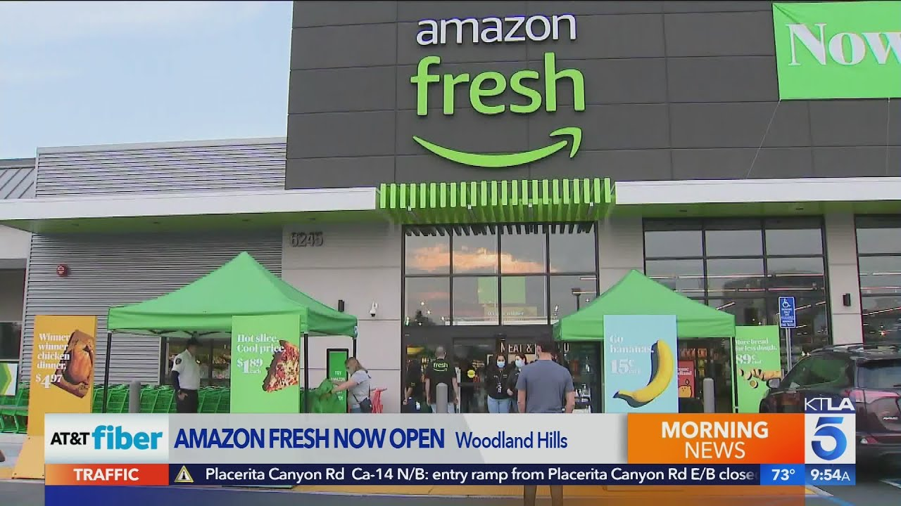 Amazon fresh store opens in Woodland Hills