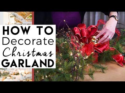 Christmas Decorations |  Christmas Garland