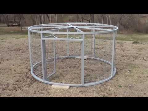 DIY Steel Spool Round Hog Trap