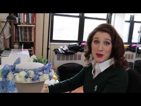 My Vintage Love- Making the Easter Bonnet