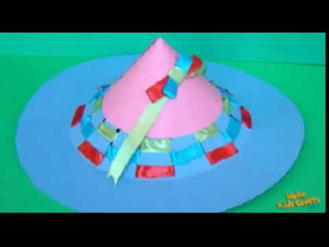 how to create paper hat